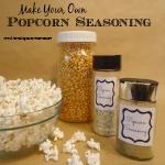 Homemade Gifts:  Popcorn Seasoning
