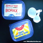 What to do about hard borax and washing soda