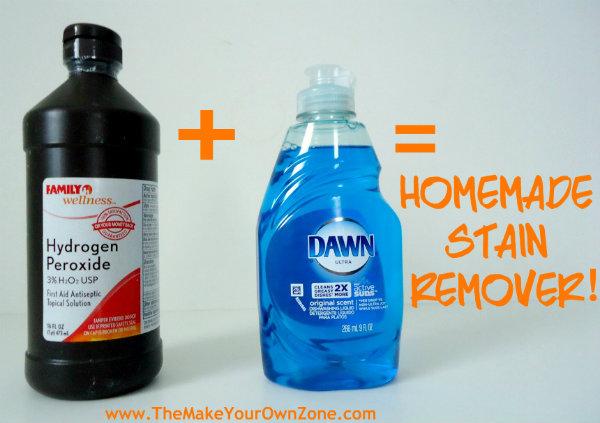 homemade stain remover recipe