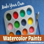 How To Make Homemade Watercolor Paints