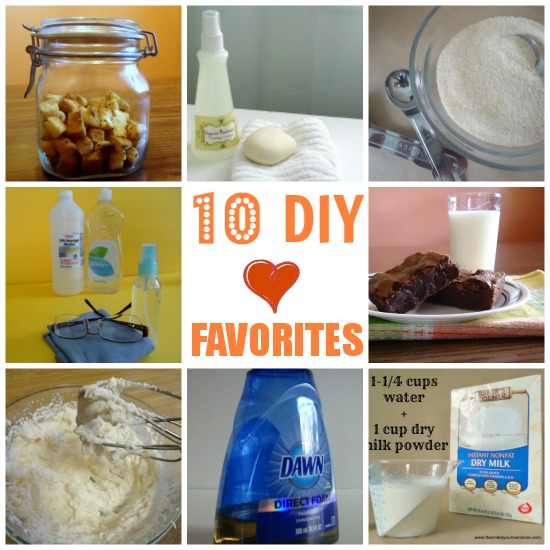 10 DIY Favorites