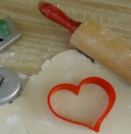 cookie cutter and cookie recipe