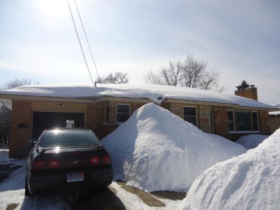 winter 2014 snowbank