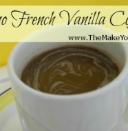 make your own french vanilla coffee mix