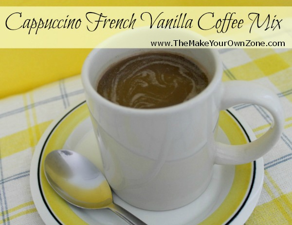 Homemade French Vanilla Cappuccino Mix