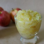 Homemade Microwave Applesauce