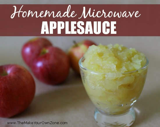 homemade applesauce 2
