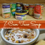 7 Can Taco Soup Recipe