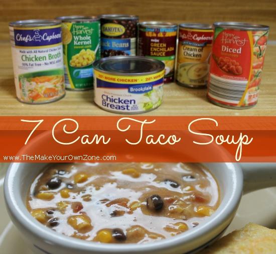 7 Cam Taco Soup Recipe
