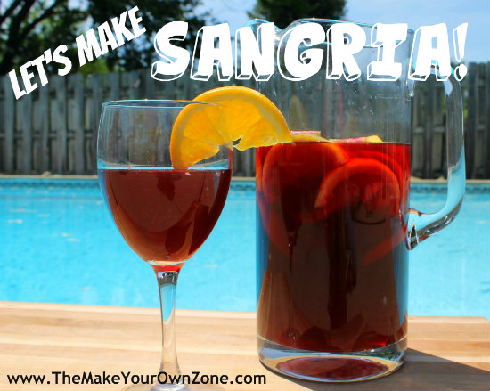 Homemade Sangria Recipe