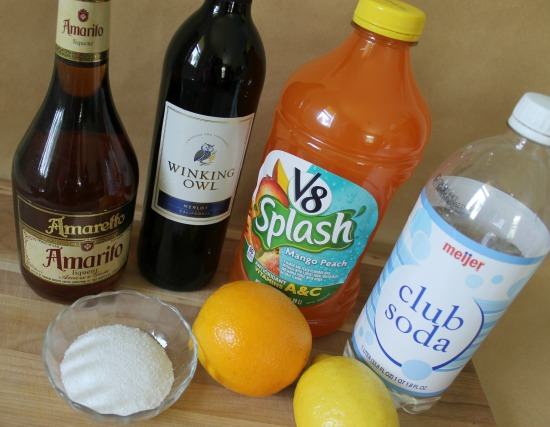 Ingredients for Homemade Sangria