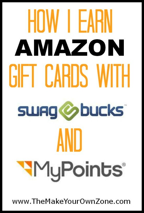 How I earn free Amazon gift cards with Swagbucks and My Points