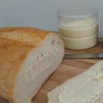 Homemade butter spread