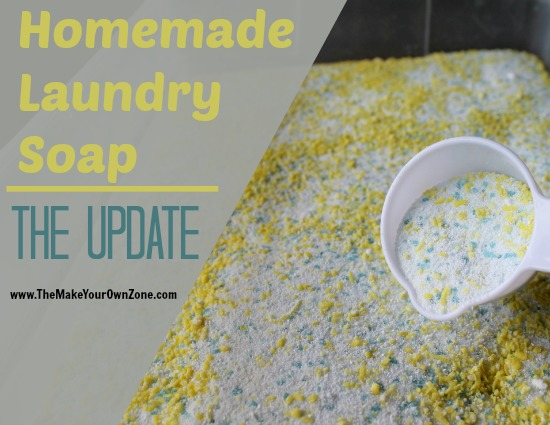 Homemade Powdered Laundry Soap: Version 2