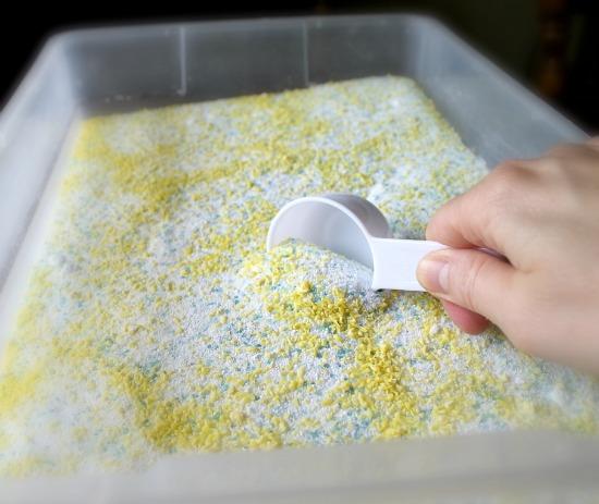 homemade powdered laundry soap