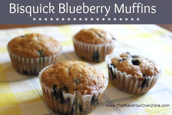 Bisquick Blueberry Muffin Recipe