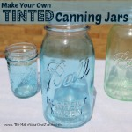 How To Tint Canning Jars