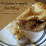 Grandma's Apple Pie Filling