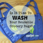 Is It Time To Wash Your Reusable Grocery Bags?