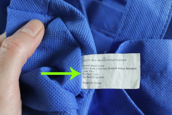 how to wash your reusable cloth grocery bags