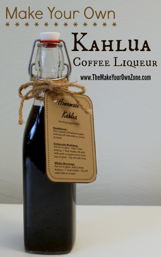 How to make homemade Kahlua coffee liqueur