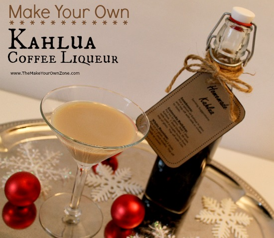 How to make homemade copycat Kahlua
