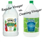 regular vinegar vs cleaning vinegar