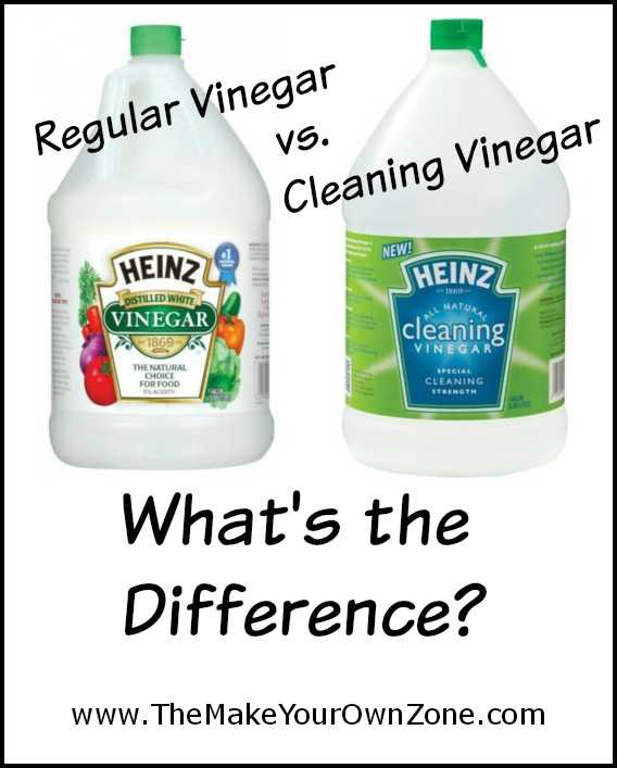 Regular Vinegar Vs Cleaning