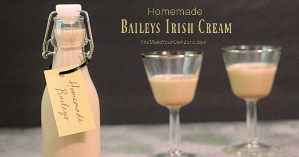 homemade Baileys Irish Cream