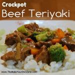 Recipe for Crockpot Beef Teriyaki