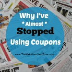 Why I've Almost Stopped Using Coupons
