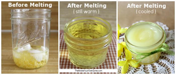 Steps for making a homemade olive oil moisturizer