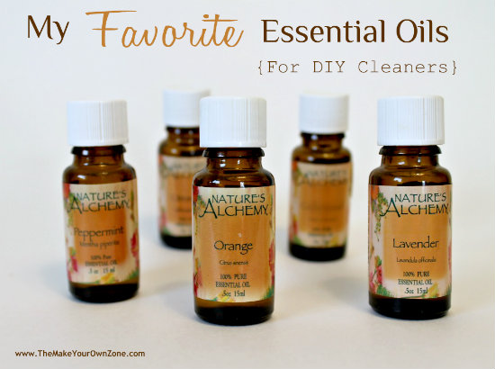 Favorite essential oils for DIY cleaners