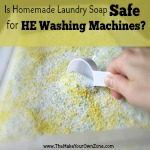 Can You Use Homemade Laundry Soap In HE Washers?