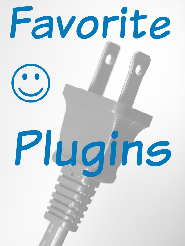 Favorite Plugins I use on my blog