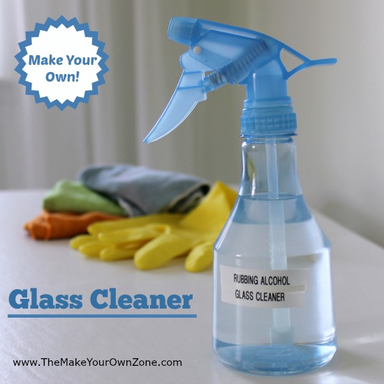 how to make homemade glass cleaner