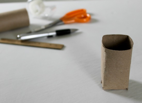 How to make seed starter pots from toilet paper tubes