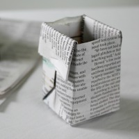 seed pots newspaper 200