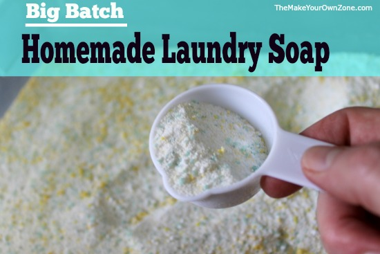 Homemade Laundry Soap with Fels Naptha