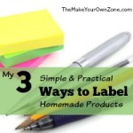 My 3 Simple And Practical Ways to Label