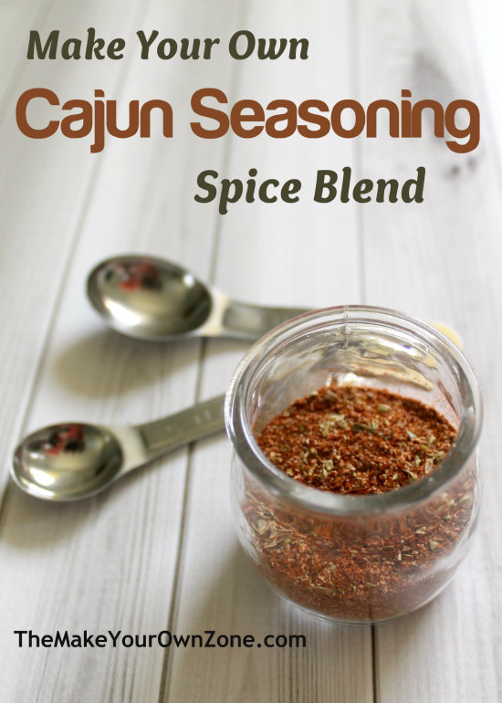 Make your own cajun seasoning spice blend