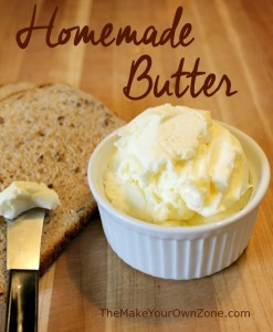 How to make butter in a food processor