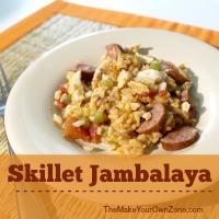Recipe for Skillet Jambalaya