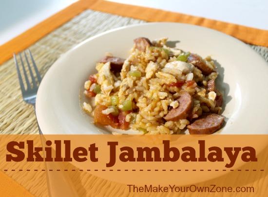 Skillet Jambalaya Recipe