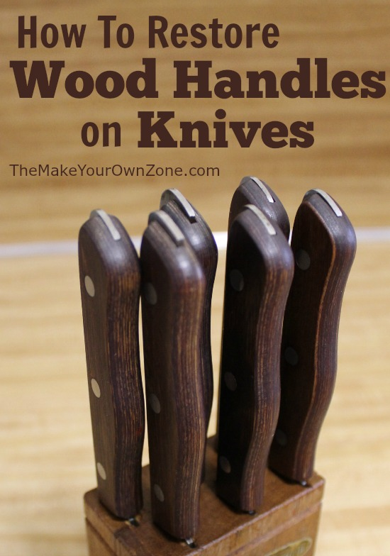 Do you have dried out wood handles on your knives? Learn how to revive them again with this homemade solution that costs only pennies!