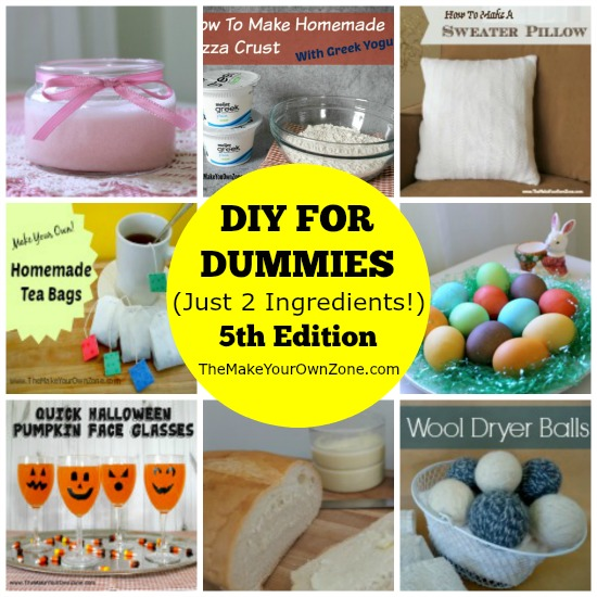 Easy DIY ideas with only 2 ingredients