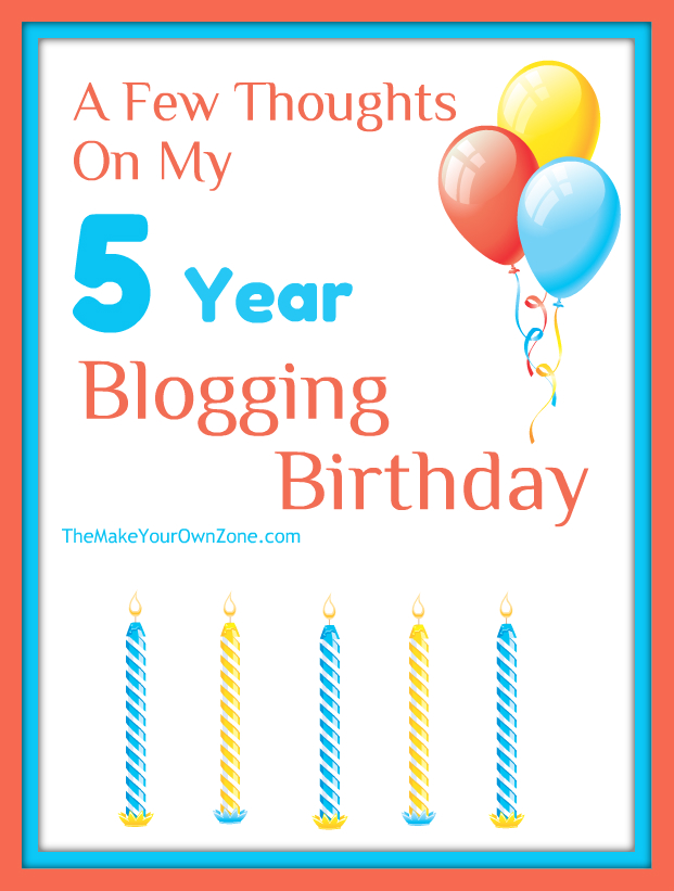 Thoughts on what it's like after 5 years of blogging
