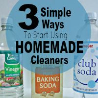 3 Simple Ways To Start Using Homemade Cleaners
