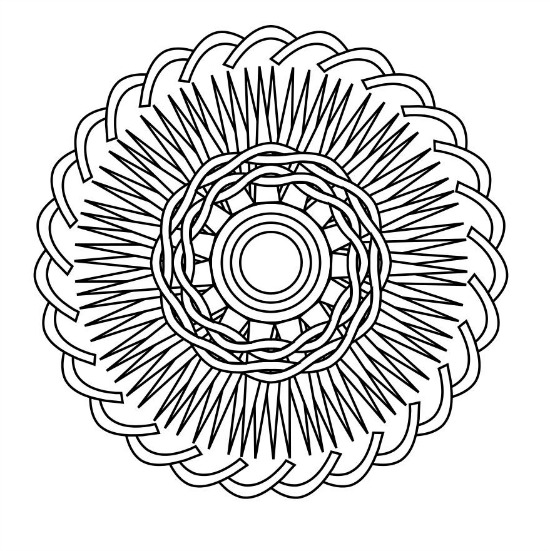 How to make and print your own coloring pages using colormandala.com