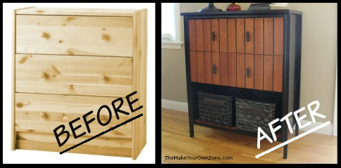 Ikea Rast Dresser Hack: Here's how to make a plain Ikea dresser into foyer table